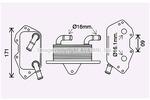 Chłodnica oleju silnikowego PRASCO AI3404 PRASCO AI3404
