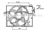 Wentylator chłodnicy silnika PRASCO BW7531 PRASCO BW7531