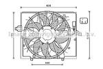 Wentylator chłodnicy silnika PRASCO BW7537 PRASCO BW7537