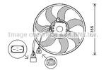 Wentylator chłodnicy silnika PRASCO VW7534