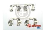 Zestaw akcesoriów klocków hamulcowych AUTOFREN SEINSA  D42692A (Oś przednia)