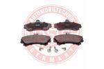 Klocki hamulcowe - komplet MASTER-SPORT  13046028302N-SET-MS (Oś przednia)