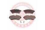 Klocki hamulcowe - komplet MASTER-SPORT  13046028812N-SET-MS (Oś przednia)-Foto 2