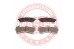 Klocki hamulcowe - komplet MASTER-SPORT  13046049932K-SET-MS (Oś przednia)