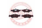 Klocki hamulcowe - komplet MASTER-SPORT  13046070832N-SET-MS (Oś tylna)