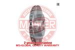 Tarcza hamulcowa MASTER-SPORT 24-0122-0151-1-SET-MS