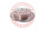 Tarcza hamulcowa MASTER-SPORT  24010907111-PCS-MS (Oś tylna)
