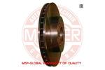 Tarcza hamulcowa MASTER-SPORT 24-0120-0115-1-SET-MS