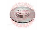 Tarcza hamulcowa MASTER-SPORT  24012601041-PCS-MS (Oś przednia)