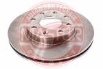 Tarcza hamulcowa MASTER-SPORT  24032001151-PCS-MS (Oś przednia)
