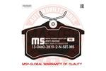 Klocki hamulcowe - komplet MASTER-SPORT 13-0460-2819-2N-SET-MS