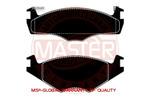 Klocki hamulcowe - komplet MASTER-SPORT 13-0460-7033-2N-SET-MS