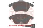 Klocki hamulcowe - komplet MASTER-SPORT 13-0460-7184-2K-SET-MS