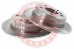 Tarcza hamulcowa MASTER-SPORT  24010801111-PCS-MS (Oś tylna)