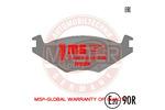 Klocki hamulcowe - komplet MASTER-SPORT 13-0460-7030-2K-SET-MS