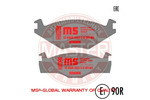 Klocki hamulcowe - komplet MASTER-SPORT 13-0460-7032-2K-SET-MS
