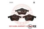 Klocki hamulcowe - komplet MASTER-SPORT 13-0460-7110-2N-SET-MS