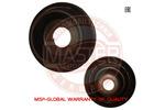 Łożysko mocowania amortyzatora MASTER-SPORT  8200651172-SET-MS (z obu stron)