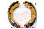 Szczęki hamulcowe - komplet MASTER-SPORT  03013740022-SET-MS (Oś tylna)
