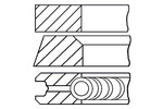 Zestaw pierscieni tłoka GOETZE ENGINE  08-305900-10