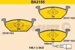 Klocki hamulcowe - komplet BARUM BA2155