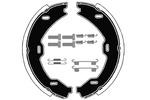 Szczęki hamulcowe hamulca postojowego - komplet RAICAM  RA28631 (Oś tylna)