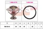 Termostat układu chłodzenia EPS 1.880.417 EPS 1.880.417