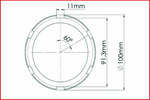 Element łamany, klucz nasadowy KS TOOLS 515.1801-Foto 8