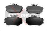 Klocki hamulcowe - komplet MAXGEAR  19-0478 (Oś przednia)