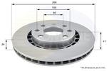 Tarcza hamulcowa COMLINE  ADC1007V (Oś przednia)