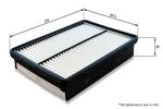 Filtr powietrza COMLINE EAF834 COMLINE EAF834