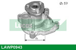 Pompa wody LUCAS ENGINE DRIVE LAWP0943