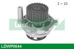 Pompa wody LUCAS ENGINE DRIVE LDWP0644