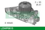 Pompa wody LUCAS ENGINE DRIVE LDWP0813
