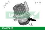 Pompa wody LUCAS ENGINE DRIVE LDWP0826