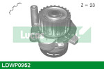Pompa wody LUCAS ENGINE DRIVE LDWP0952