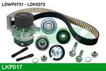 Zestaw paska rozrządu + pompa wody LUCAS ENGINE DRIVE LKP017