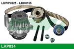 Zestaw paska rozrządu + pompa wody LUCAS ENGINE DRIVE LKP034