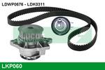 Zestaw paska rozrządu + pompa wody LUCAS ENGINE DRIVE LKP060