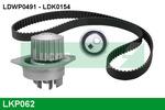 Zestaw paska rozrządu + pompa wody LUCAS ENGINE DRIVE LKP062