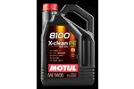 Olej silnikowy MOTUL 8100 X-clean FE 5W30 5 litrów-Foto 2
