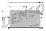 Chłodnica klimatyzacji - skraplacz NPS DCN10013 NPS DCN10013