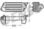 Chłodnica powietrza doładowującego - intercooler NPS DIT09120 NPS DIT09120