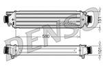 Chłodnica powietrza doładowującego - intercooler NPS DIT13002 NPS DIT13002
