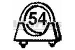 Obejma rury układu wydechowego KLARIUS 430193 KLARIUS  430193
