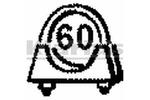Obejma rury układu wydechowego KLARIUS 430247 KLARIUS  430247
