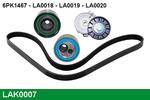 Zestaw paska klinowego wielorowkowego LUCAS  LAK0007