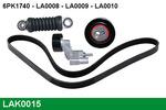 Zestaw paska klinowego wielorowkowego LUCAS  LAK0015