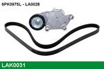 Zestaw paska klinowego wielorowkowego LUCAS  LAK0031