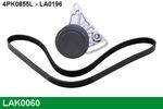 Zestaw paska klinowego wielorowkowego LUCAS LAK0060 LUCAS LAK0060